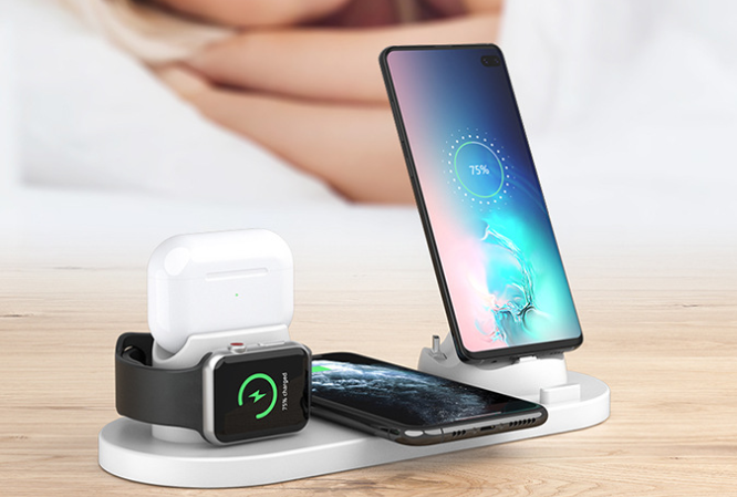 six in one wireless charger