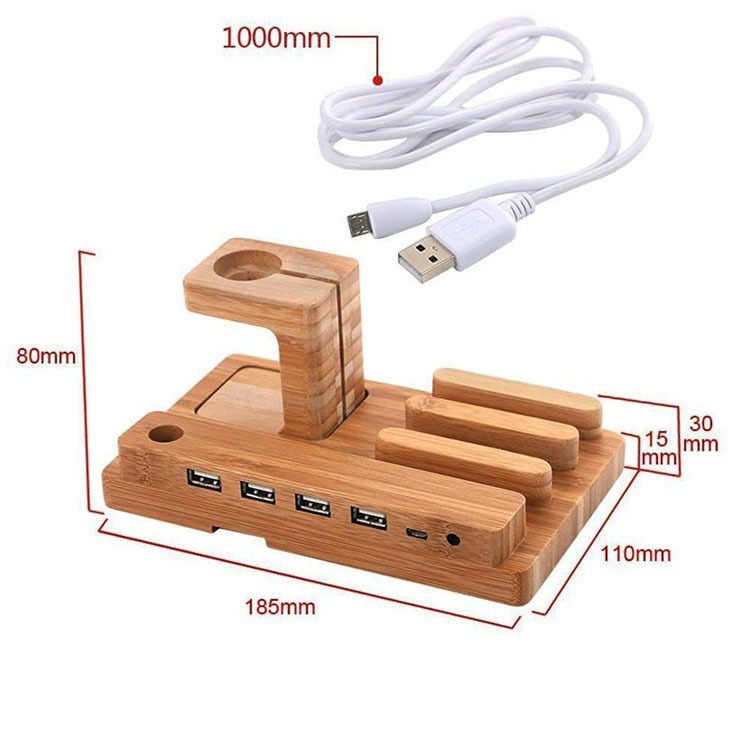 wood wall charger
